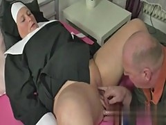 German Grandma Nun get Fucked with not d