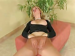 nude pantyhose finger it