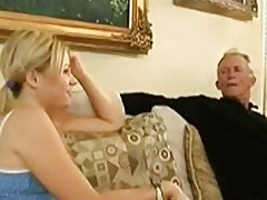 Babysitter sucking babies grandpa s dick,...