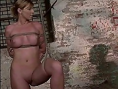 Mistress painfully punishing her slavegirl