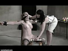 Wasteland Bondage Sex Movie - Sexy Dominatrix in White (Pt. 2)