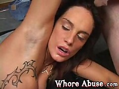 Whore Carol Ann Brutal Gang Fuck