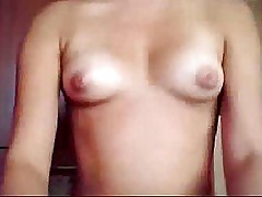 Sweet Teen with small Boobs showing off
