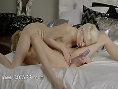 Swedish blond lesbians make true love