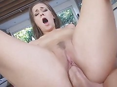 Cutie horny babe Cassidy Klein loves a big dick