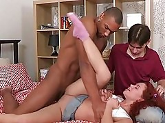 Darling having sex for the 1st time with 2 chaps