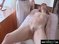 Rouh sex after a gentle massage 21