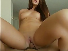 Skyla Paige amateur teen with natural tits gets fucked in bed