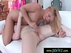 Writhing with pleasure from her lesbian lovers wet 9