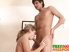 stimulating teen chick