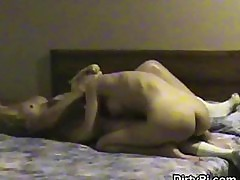 Blonde Cheating On Her Husband On Hidden Camera In Motel Room