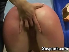 Temping Spanking Chick Fetish Sex