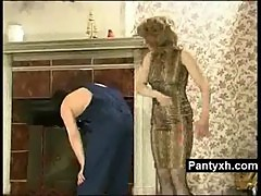 Sexy Pantyhose Woman Fucked