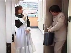 Sweet, Sexy Asian Maid-Housekeeper.