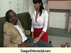 Cougar fucked deep by black monster dick 27