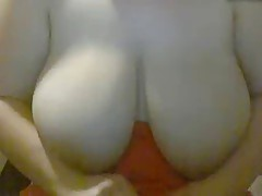 BBW saggy tits being fondled
