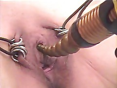 Submissive wife clit Whipping