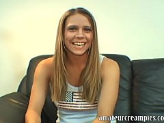 Nicole Brazzle first video on Amateur Creampies
