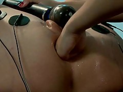 Wazoo fist having sex And Kinky masturbating in lesbie Domination For Simone Sonay