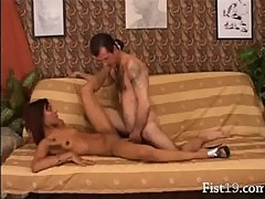 banging and fisting between lovers