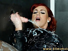 Kety Pearl at the gloryhole