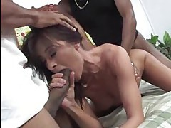 cuckold wathing as Cecilia Vega does interracial a