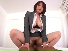 Japanese woman in a suit 07